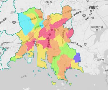 学区人口マップ